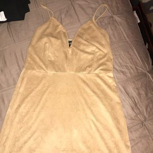 Suede brown dress from Rue21